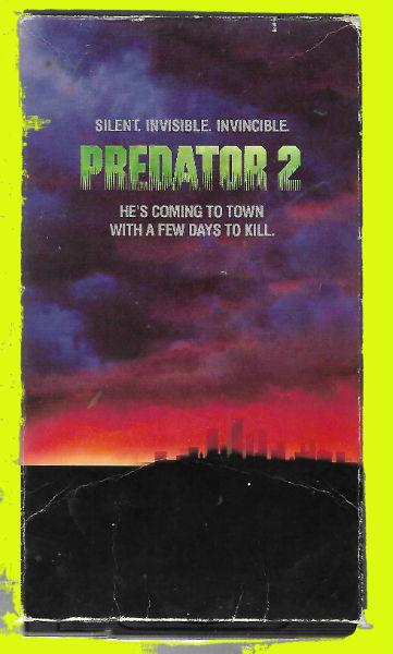 Image for Predator 2 VHS  VHS video  VHS  Danny Glover (Actor), Gary Busey (Actor), Stephen Hopkins (Director)
