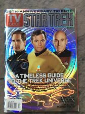 Image for 2002 TV Guide Star Trek 35th Anniversary Kirk Archer Picard Hologram Cover