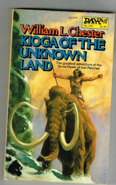 Image for Kioga of the Unknown Land  Daw #290