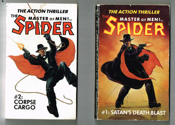 Image for The Spider:Master of Men(2 vol.) Vol.1 and 2:#1  Satan's Death Blast: Spider #1  #2 Corpse Cargo: The Spider Thriller.  2.