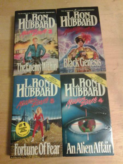 Image for Set of 5 Sci-Fi novels by L.Ron Hubbard:Mission Earth series #1 through #5