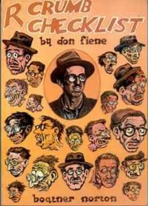 Image for R. Crumb, Checklist of Work and Criticism: With a Biographical Supplement and a Full Set of Indexes