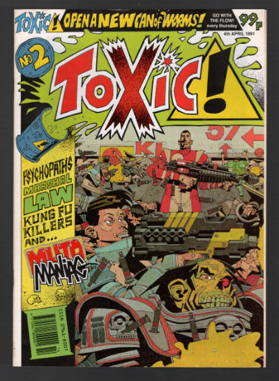 Image for Toxic! #2