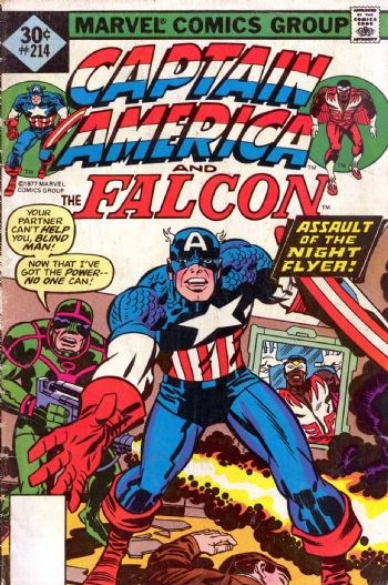Image for CAPTAIN AMERICA #214   1977|  VOLUME 1 |  MARVEL