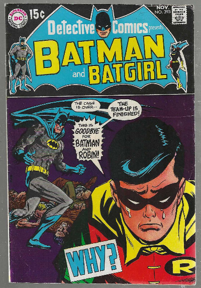 Image for Detective Comics #393:Presents Batman and Robin
