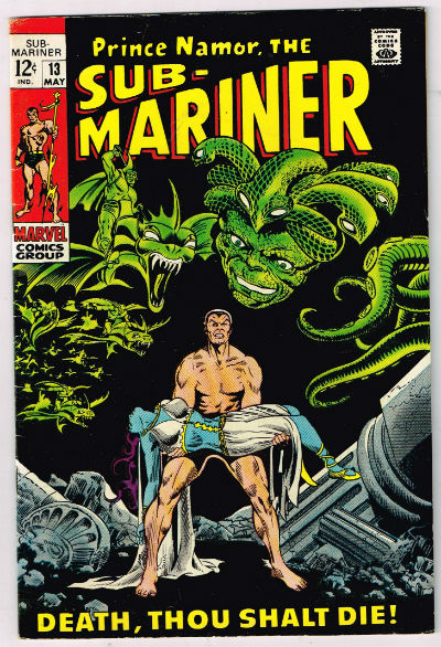 Image for PrinceNamor the Sub-Mariner No.13,may,1969