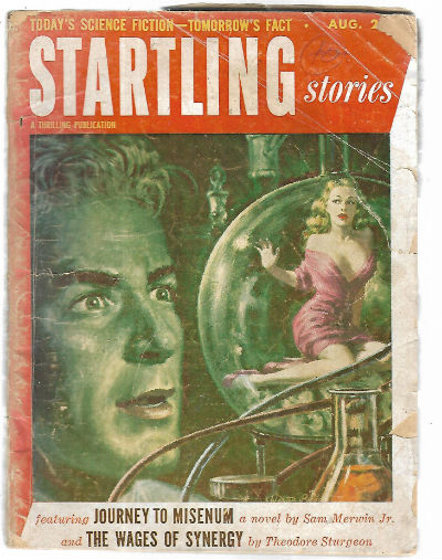 Image for Startling Stories, August 1953