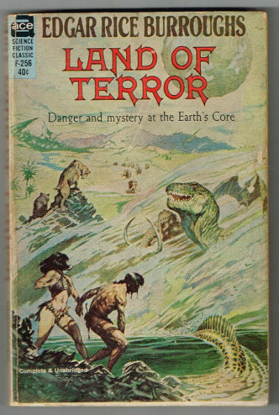 Image for Edgar Rice Burroughs:'Land of Terror