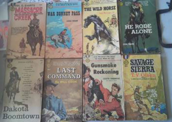Image for Gold Medal Westerns (lot of 8)