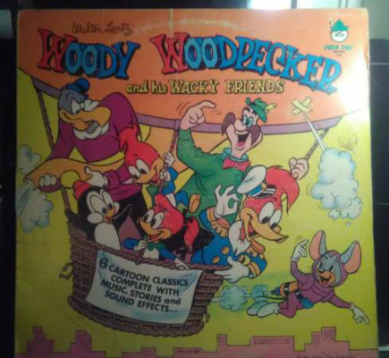 Image for Woody Woodpecker And His Wacky Friends  Label:  Peter Pan Records ‎– 1120  Format:  Vinyl, LP   Country:  US