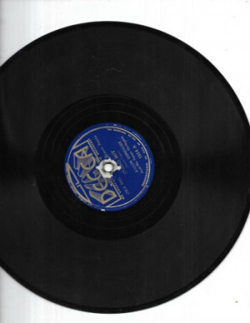 Image for Aaron Gonzalez and his Tango Orchestra 78 rpm 