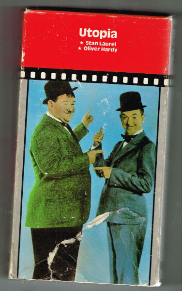 Image for Utopia [VHS]   Stan Laurel (Actor), Oliver Hardy (Actor), Alfred J. Goulding (Director),