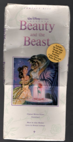 Image for Beauty and the Beast Soundtrack CD 1991 Disney Longbox