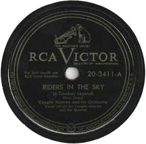 Image for  Vaughn Monroe And His Orchestra ?– Riders In The Sky (A Cowboy Legend) / Single Saddle