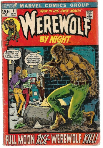 Image for Werewolf by Night #1