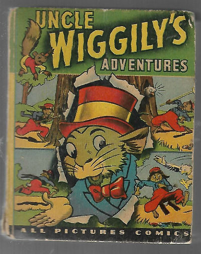 Image for Uncle Wiggly's Adventures big little book #1405