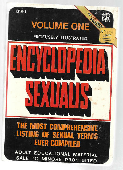Image for Encyclopedia Sexualis;Volume one,Profusely Illustrated.