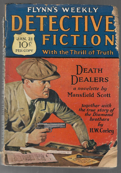 Image for flynn's weekly detective fiction jan.21 1928