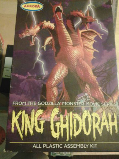 Image for King Ghidorah Model Kit Polar Lights Aurora From Godzilla