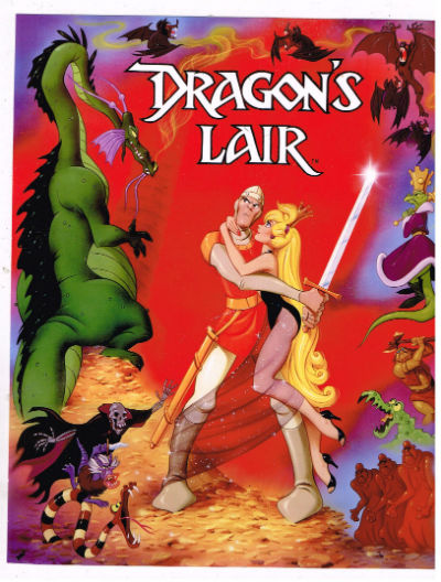 "Image for Dragon's Lair 3 beautiful color prints 8"" x 10"""