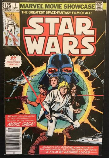 Image for Marvel Movie Showcase Featuring Star Wars (1982) #1 and #2 (Complete story)