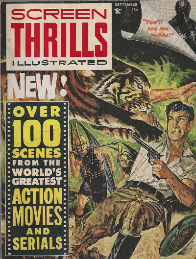 Image for SCREEN THRILLS Illustrated #2, September 1962