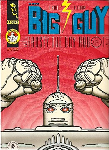 Image for The Big Guy and Rusty the Boy Robot #2 (2 of 2) Comics – 1995  by Frank Miller (Author),‎ Geoff Darrow (Illustrator)