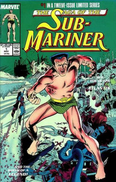 Image for Saga of the Sub-Mariner (1988)#1,#2 and #6 of a 12 issue series