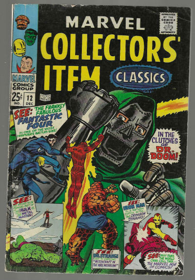 Image for Marvel Collectors' Item classics #12