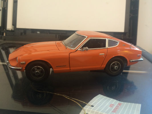 Image for FRANKLIN MINT 1970 Datsun 240Z 1/24 Scale Diecast #B11XN64 AMAZING DETAIL