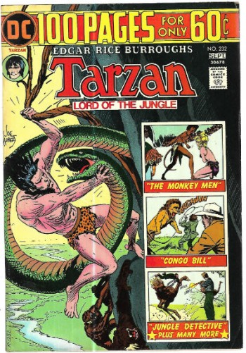 Image for Tarzan #232 ;Lord of the Jungle