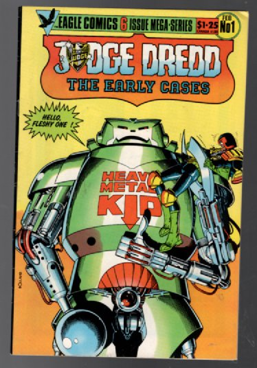 Image for Judge Dredd: The Early  Cases #1