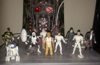 Image for A formidable set of 11 star wars figures