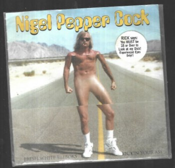 Image for  Nigel Pepper Cock – Fresh White Reeboks Kickin Your Ass