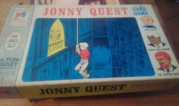 Image for Rare jonny quest card game milton bradley 1964
