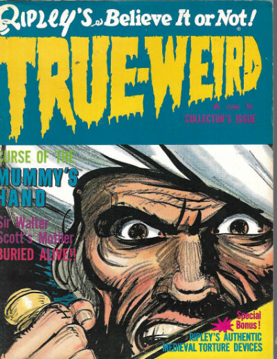Image for Ripley's Believe It or Not! True Weird (1966) #1 Vol.1