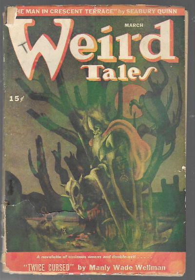 Image for WEIRD TALES. MARCH, 1946. (Paperback)