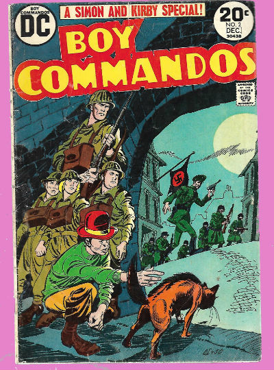 Image for Boy Commandos (1973 2nd Series) #2