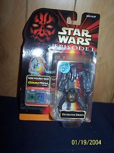 Image for Star Wars Episode 1 Destroyer Droid action figure MOC