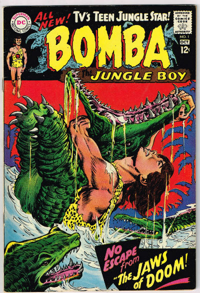 Image for BOMBA, THE JUNGLE BOY #1    1967