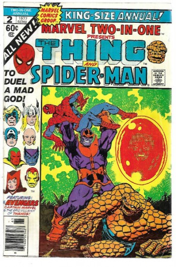 Image for Marvel Two-in-One King-size annual #2:presents the Thing and Spider-man