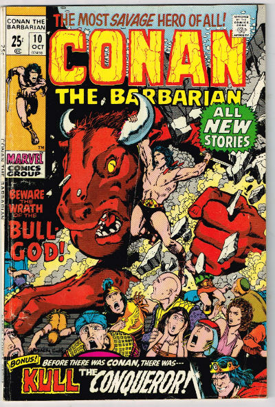 Image for CONAN THE BARBARIAN #10    1971 | VOLUME 1 | MARVEL