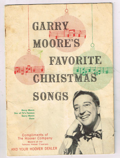 Image for Garry Moore's favorite Christmas songs