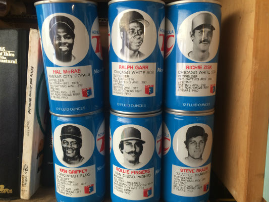 Image for Lot of 12 RC cola baseball cans