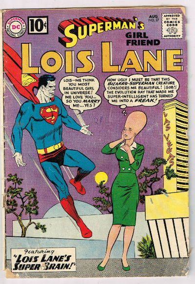 Image for SUPERMAN'S GIRLFRIEND LOIS LANE #27    1961,August. | VOLUME 1 | DC