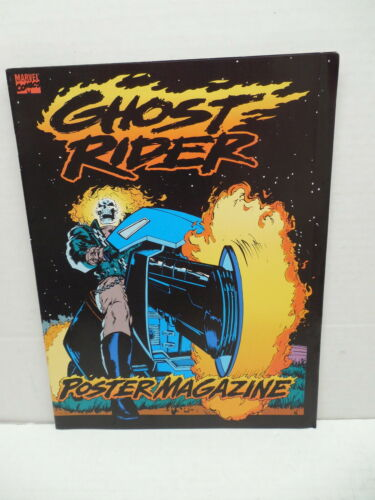 Image for Ghost Rider Marvel Comic Book Poster PinUp Magazine Texeira Jim Lee Romita Keith