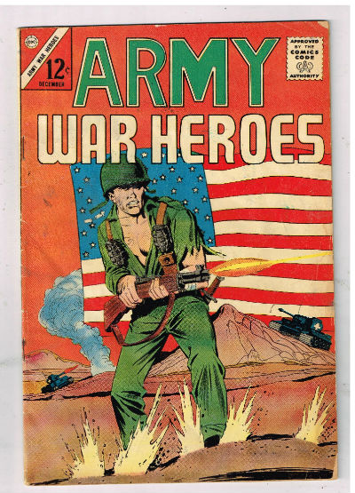 Image for ARMY WAR HEROES #1   1963-1970 |  VOLUME 1 |  CHARLTON