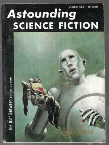 Image for ASTOUNDING-SCIENCE-FICTION-1953-10-VG-October-signed by Kelly-Freas-QUEEN-Album-Cover