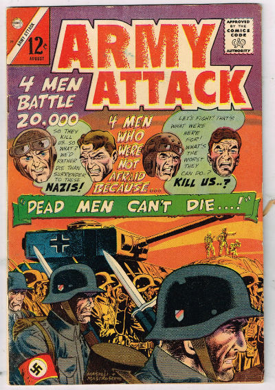 Image for ARMY ATTACK #39   1965-1967 |  VOLUME 2 |  CHARLTON