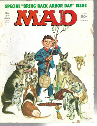 Image for Mad  magazine #184